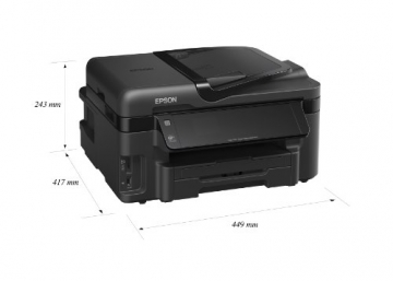 Epson WorkForce WF-3520DWF Test